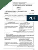 Titularizare Biologie 2012 Model Subiect
