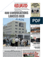Journal El Moudjahid 15-01-2013