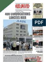 Journal El Moudjahid 15-01-2013
