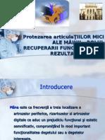 Recuperarea Miinii Protezate-recuperare Articulara CURS 6+7