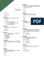 7. Matematika Dasar SPMB