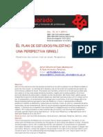Plan de Estudio Palestino Desde Perpec Israeli