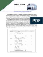 Cromatografia de Troca Ionica