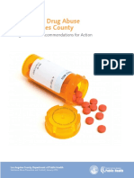 Prescription Drug Abuse in Los Angeles County