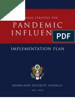 Pandemic Influenza - Implementation Plan