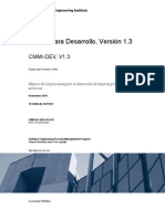Spanish Technical Report CMMI v 1 3