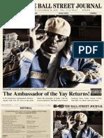 Digital Booklet - The Ball Street Journal
