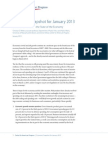 Economic Snapshot for January 2013