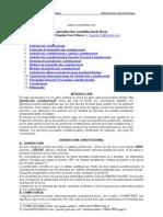 Jurisdicción constitucional (Perú)