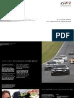 Aston Martin GT4 Challenge of Great Britain 2013 Brochure