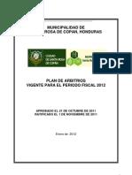 Plan de Arbitrios Santa Rosa de Copan