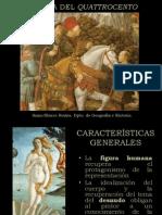 El arte del Quatrocento en Italia.