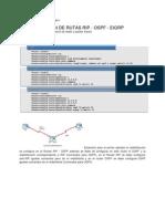 redistrribucion OSPF-RIP-EIGRP