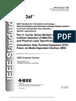 IEEE 802.23af