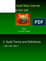 Audit Mutu Internal ISO 9001