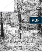 Stop Hunting Sheep