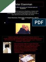 Vida y Obra de Peter Eisenman