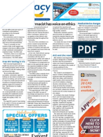 Pharmacy Daily for Tue 15 Jan 2013 - Pharmacist ethics, Medical device changes, Free HIV testing, Monash and much more...