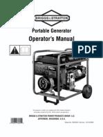 manual del operator