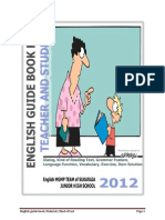 English Guide Book For Teacher and Student