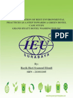 Implementation of Best Environmental Practices as a Step Towards Green Hotel
