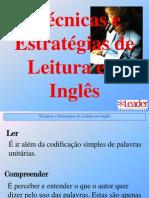 estratégia de leitura em inglês