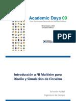 Introduccion a NI Multisim Para Diseno y Simulacion de Circuitos