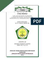 Tugas Etika Profesi (Junaidi p Saputra)