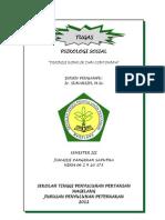 Tugas Psikologi Sosial (Junaidi p Saputra)