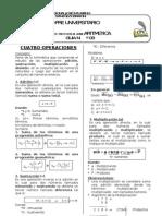 Guia03 - Cuatro Operacoiones