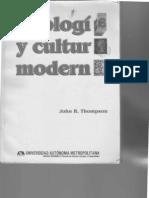Ideología y Cultura Moderna