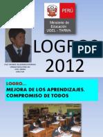 LOGROS 2012 UGEL TARMA