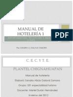 Manual de Hoteleria