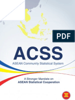 ASEAN Community Statistical System (ACSS) Committee booklet 2012
