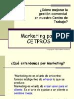 3 Marketing Para CETPROS