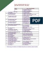jadual pemantauan PBS  2013