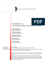 Introduction to the Financial Macro-Econometric Model
