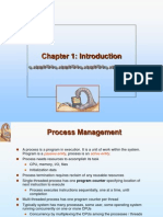 Introduction to Operating System Chapter 1