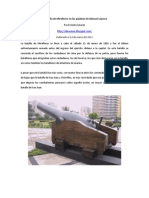 La Batalla de Miraflores en el testimonio de Manuel Layseca