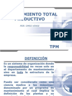 Mantenimiento Total Productivo