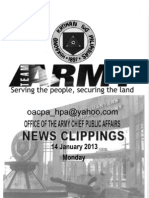 Philippine Army News Clippines