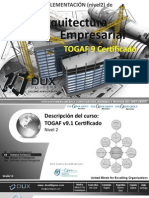 Curso TOGAF Certificado (nivel 2) - Implementación