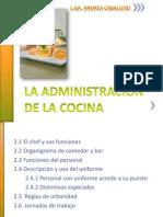 La Administración de la Cocina