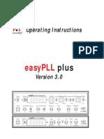 Nanosurf easyPLL Manual