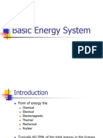 Basic Energy System