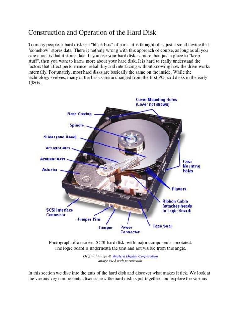 The Hard Disk Anatomydocx Champion Ultrastar Wiring Diagram