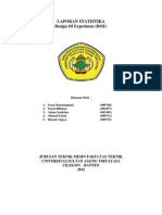 laporan statika