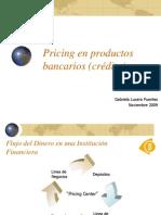 Pricing en Productos Bancarios