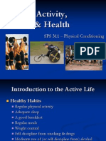 Physical Activity, Fitness & Health
