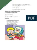 Evidencias Glosario de Términos Informáticos y Cuestionario